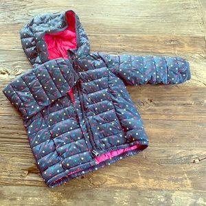 Gap toddler size 2T winter nano puff coat jacket